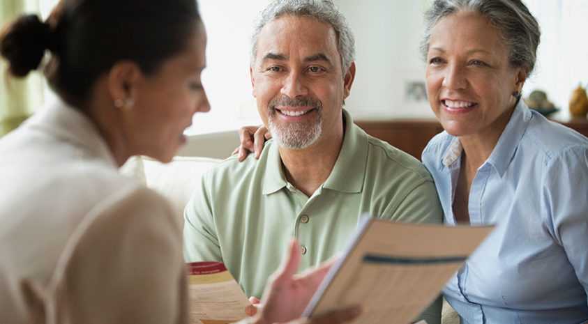 Accelerated underwriting lets a senior couple get quick and easy approval for a universal life insurance policy