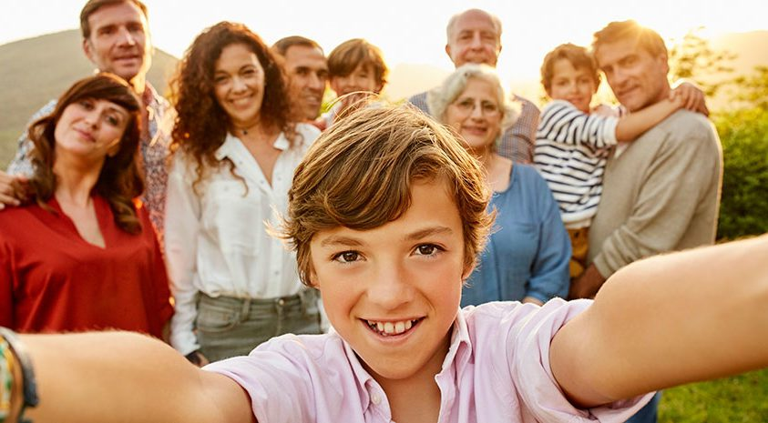Family protected with life insurance